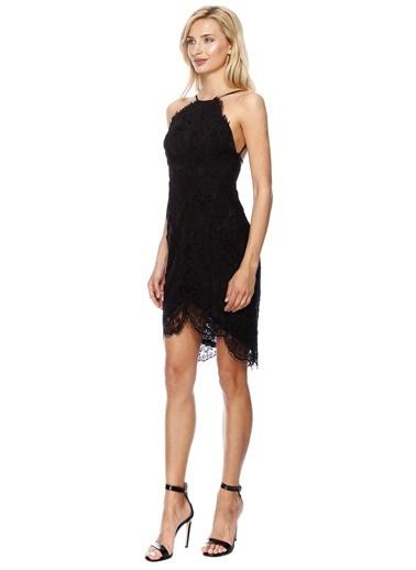 Glamorous Abiye Elbise Siyah
